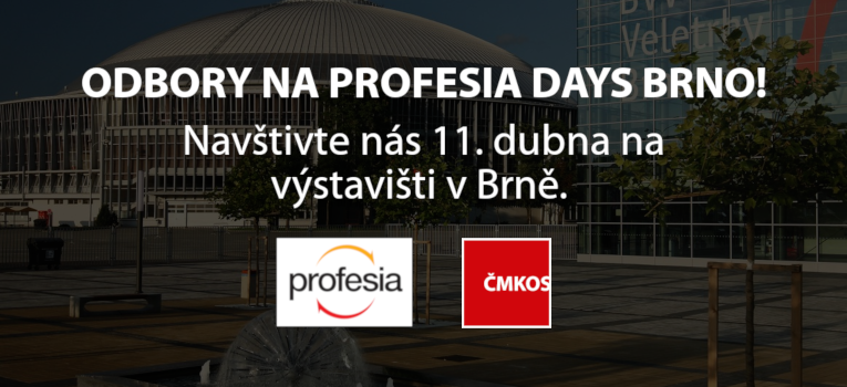 ČMKOS na Profesia Days Brno 2019!