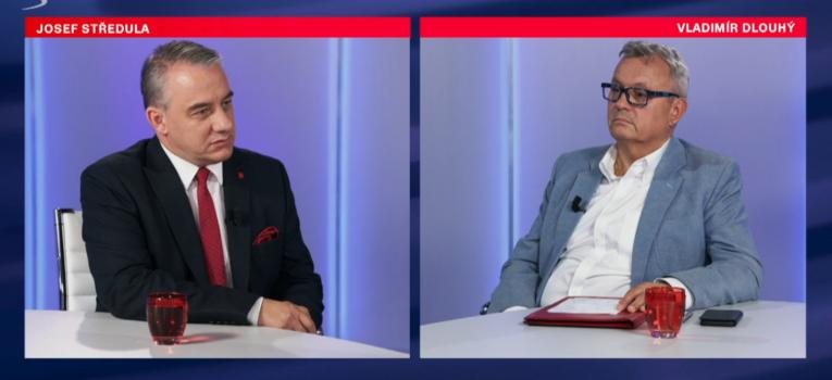 Josef Středula versus Vladimír Dlouhý. O kolik má příští rok vzrůst minimální mzda?