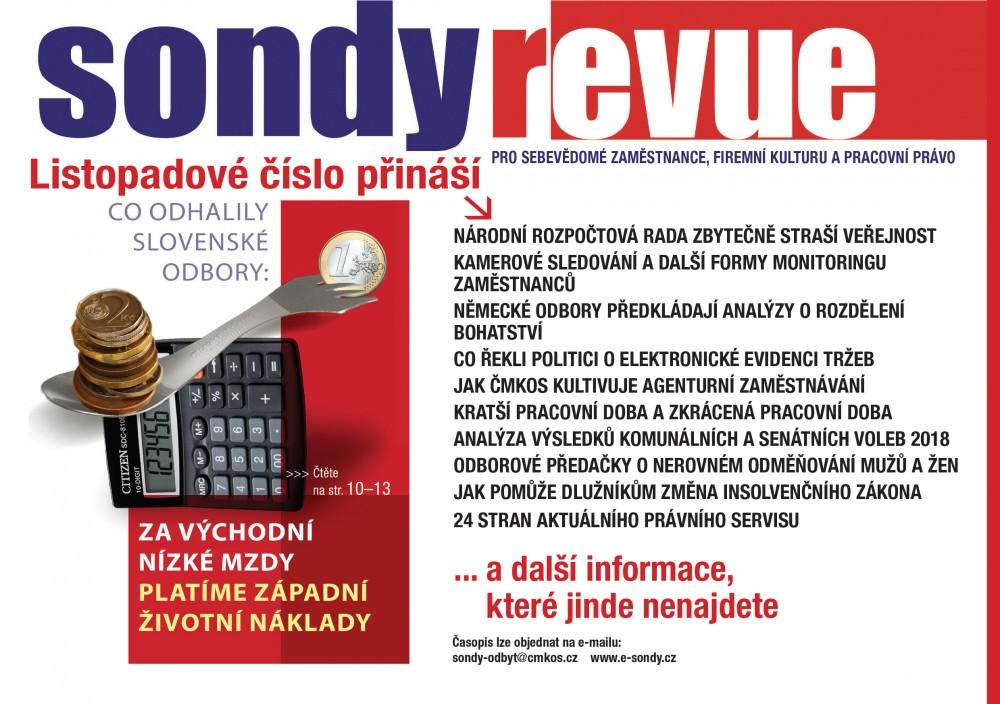 Sondy REVUE 11/2018
