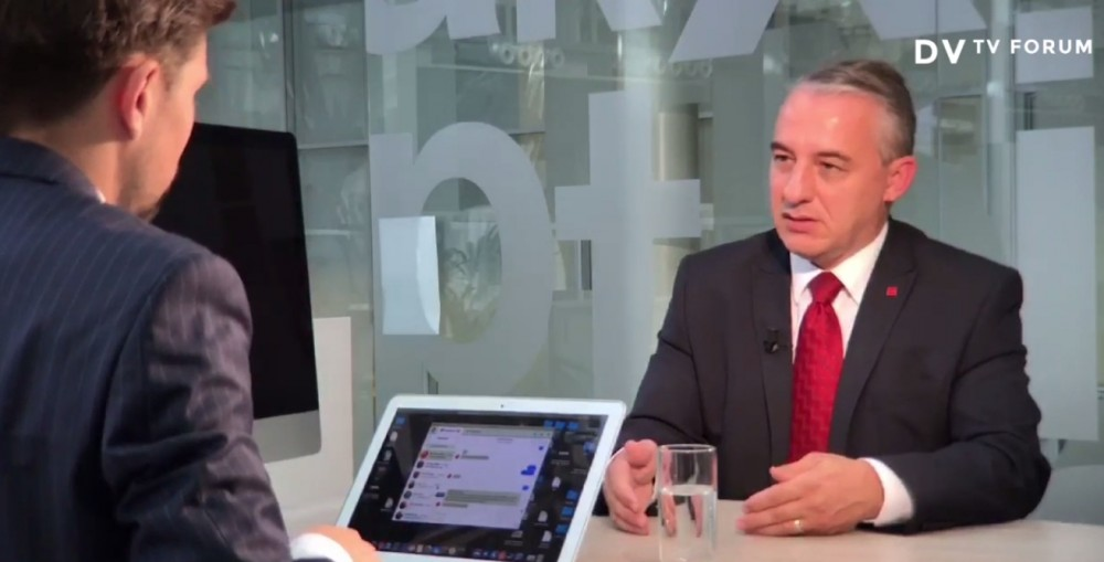 Josef Středula byl hostem VDTV Forum