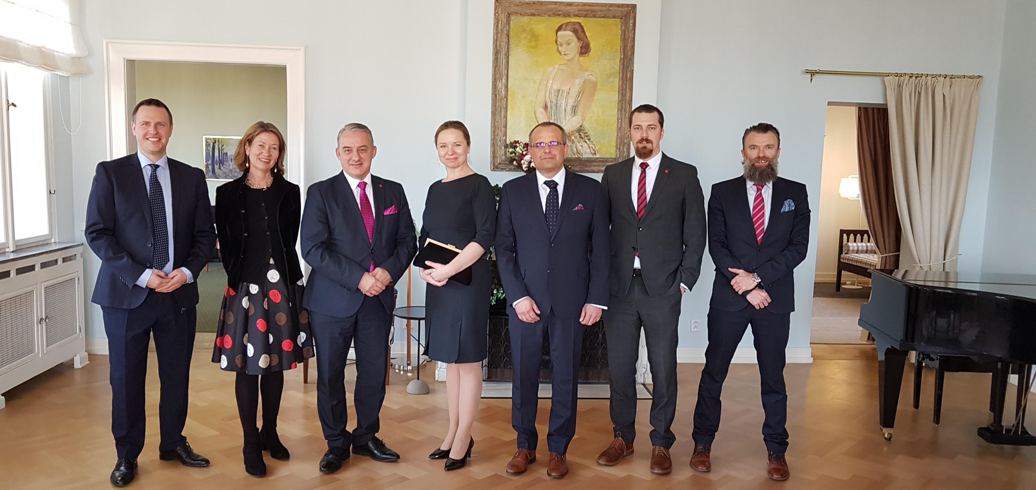 Setkání u Švédů