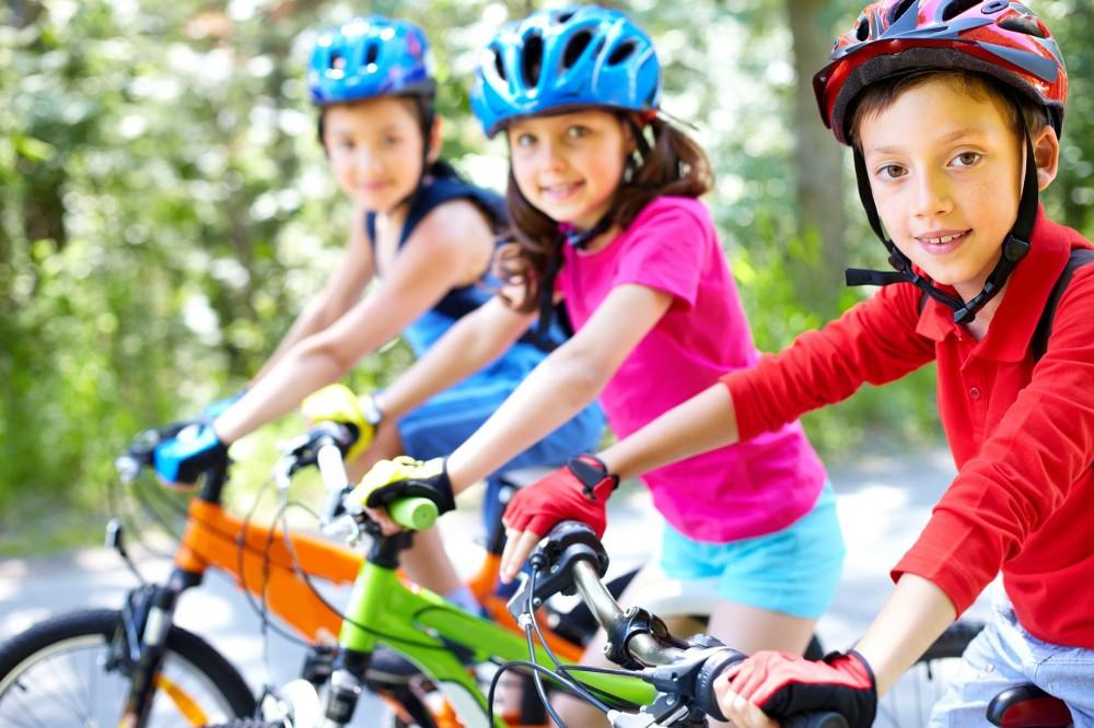 děti bike