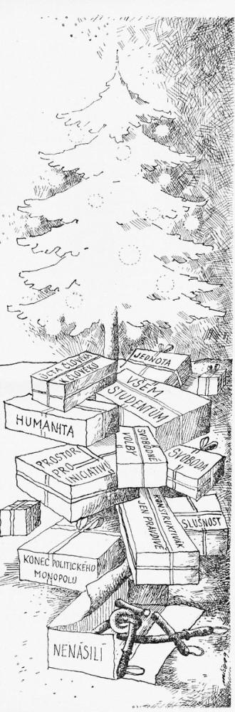 Konstruktivák, časopis pracujících st. podniku Konstruktiva 27. prosince 1989