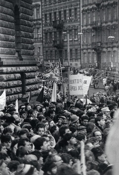 Generální stávka; Archiv UK