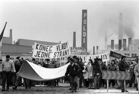 Generální stávka na Kladně; ČTK